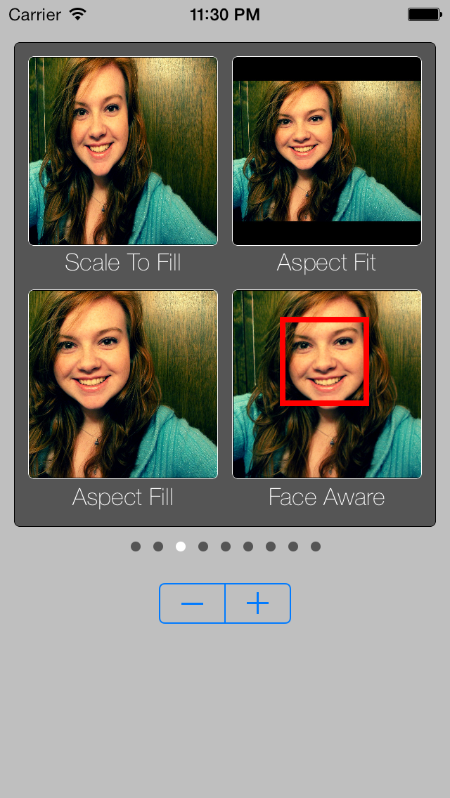 UIImageView_FaceAwareFill screenshot