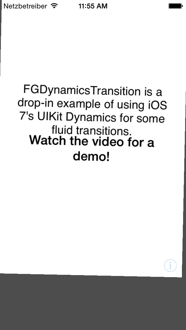 FGDynamicsTransition screenshot