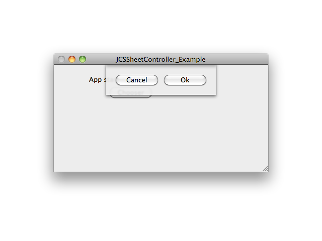 JCSSheetController screenshot