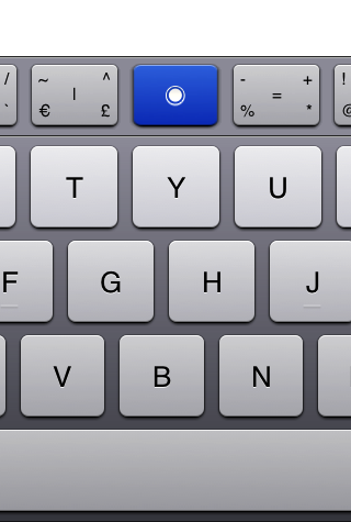 KOKeyboard screenshot