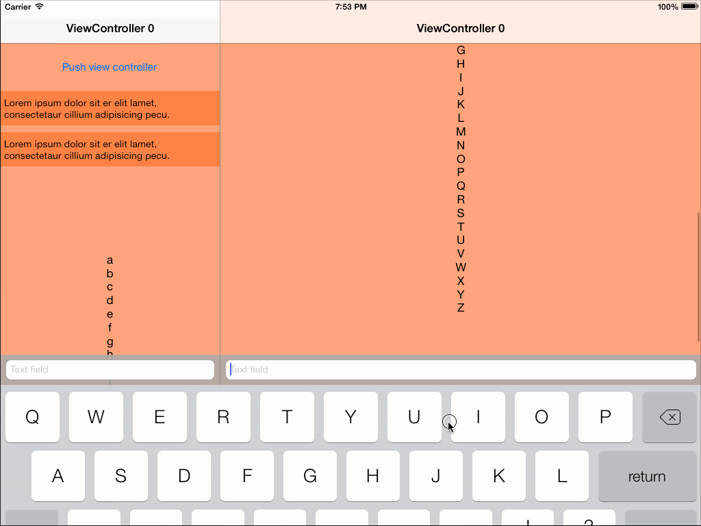 JKKeyboard screenshot