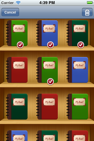 GSBookShelf screenshot