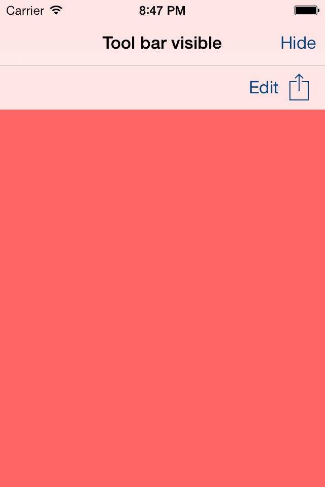 APDropDownNavToolbar screenshot