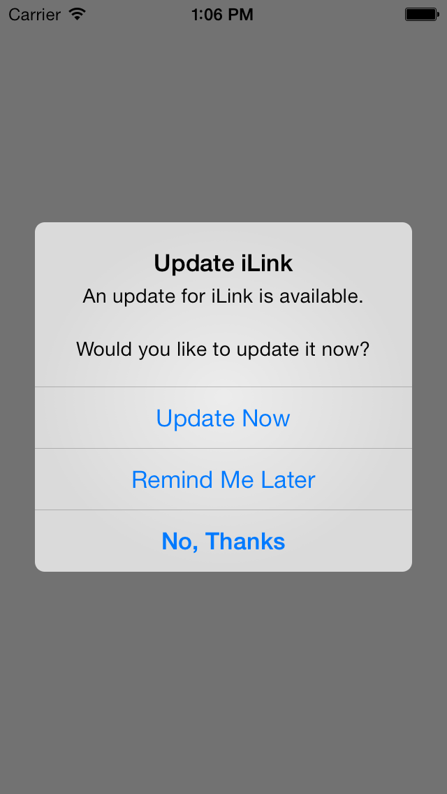 iLink - Auto update checker & Store links builder screenshot