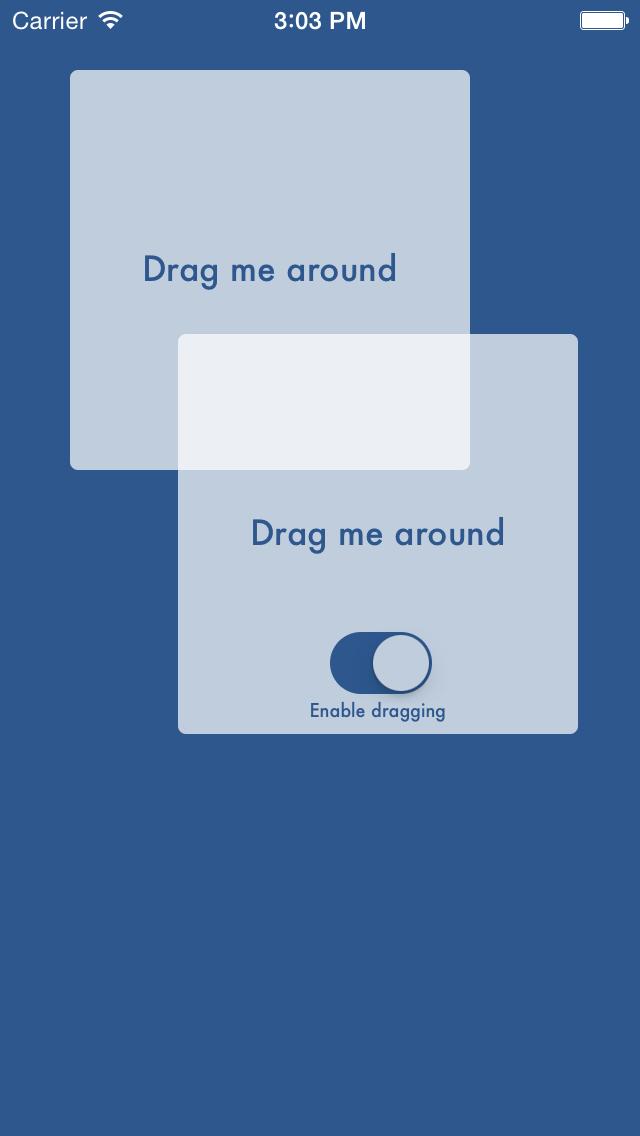 UIView+draggable screenshot