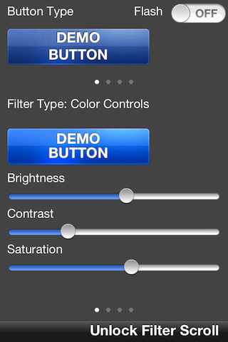 DemoButton screenshot