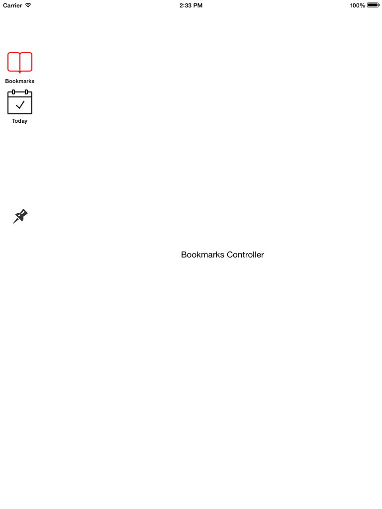 PCSideBarController screenshot