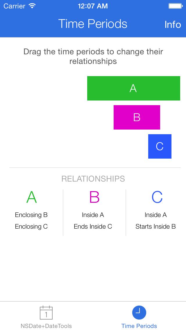 DateTools screenshot