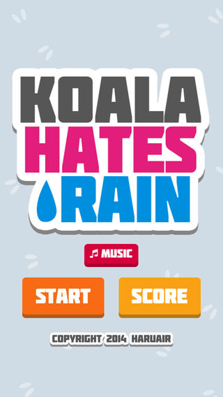 Koala Hates Rain screenshot