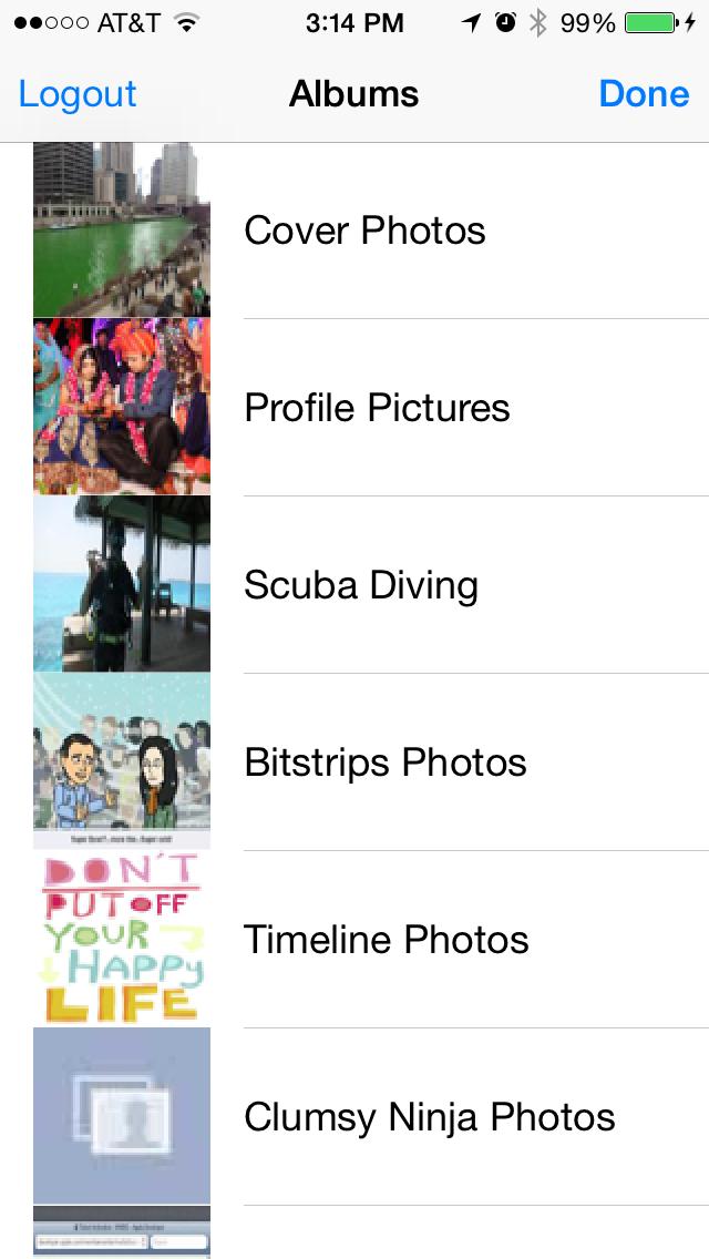 RTFacebookAlbum screenshot