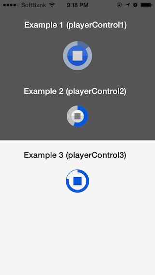 EECircularMusicPlayerControl screenshot