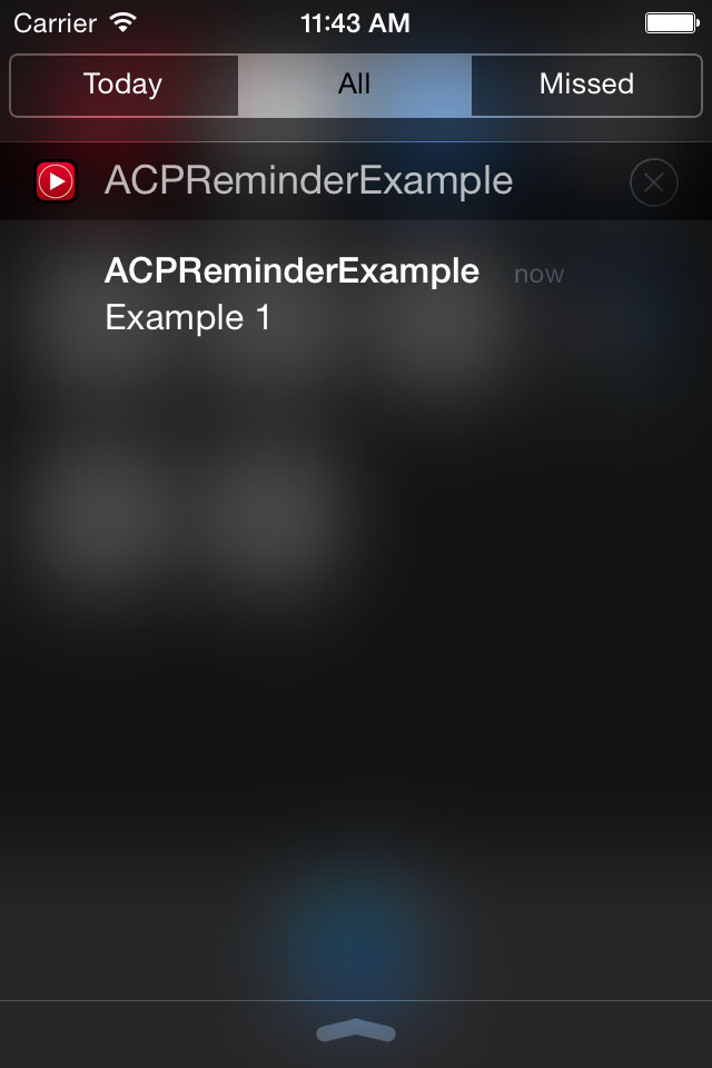 ACPReminder screenshot