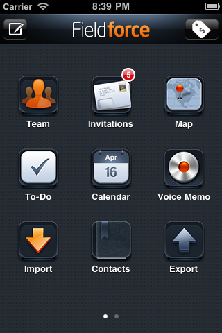 OpenSpringBoard screenshot