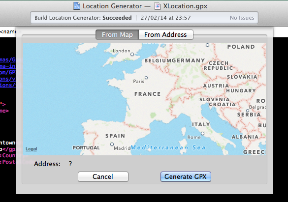 XLocation screenshot