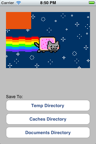 Storage screenshot