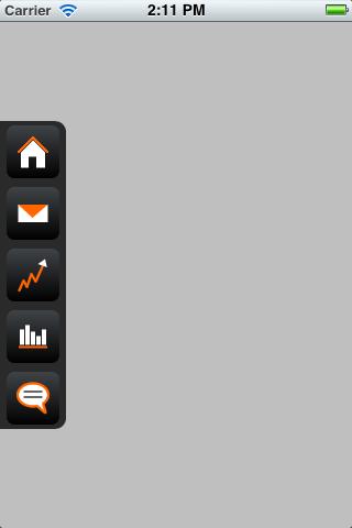 SHStripeMenu screenshot