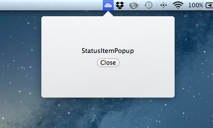 AXStatusItemPopup screenshot