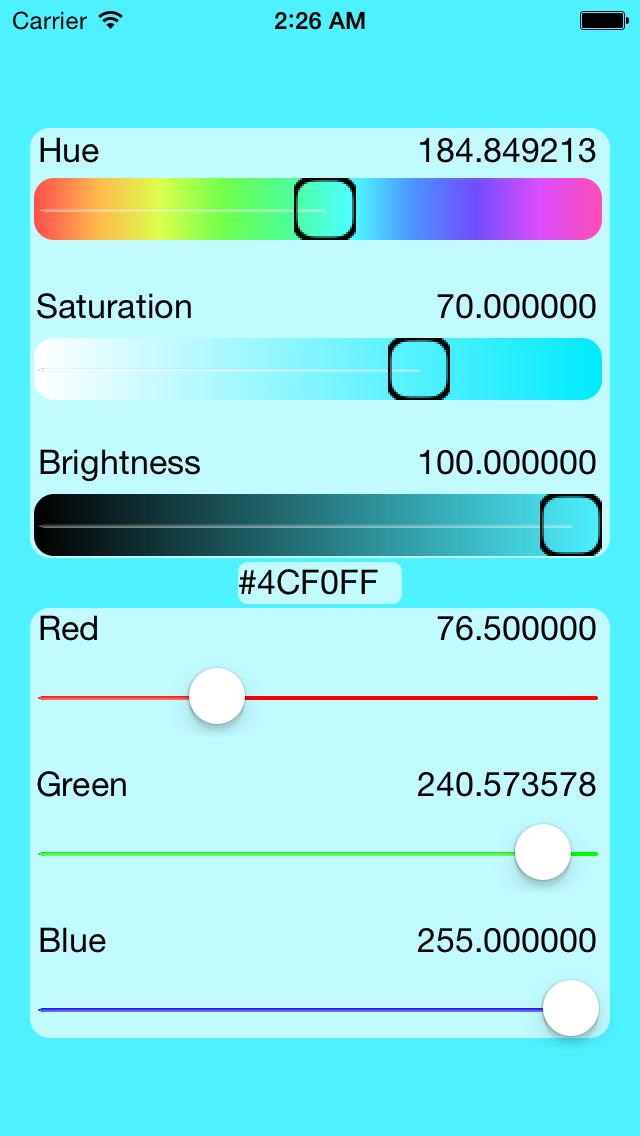 Colormix screenshot