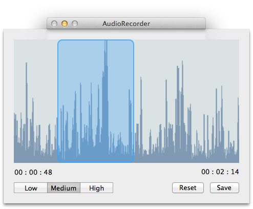AudioRecorder screenshot