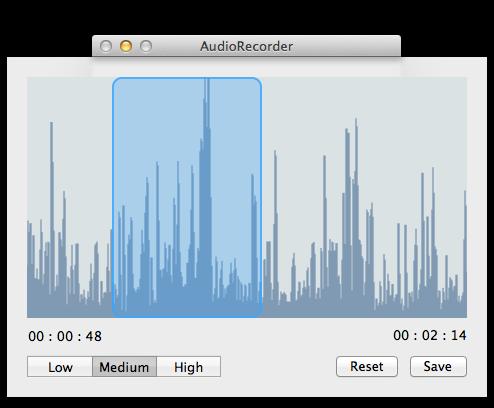 AudioRecorder screenshot