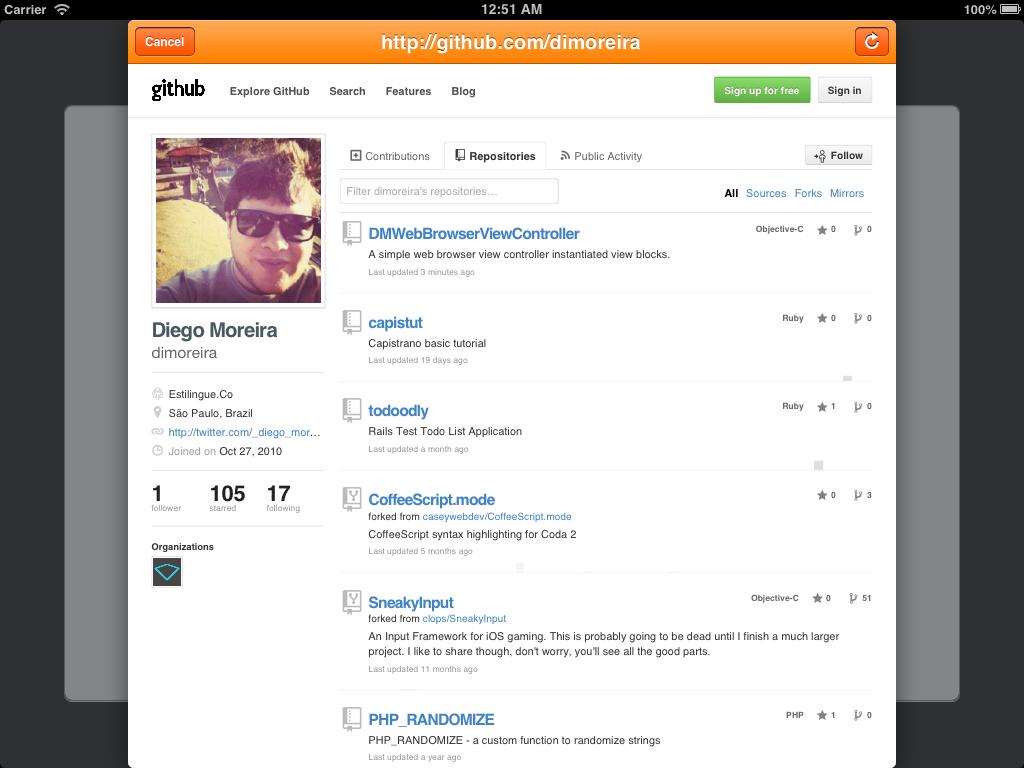 DMWebBrowserViewController screenshot