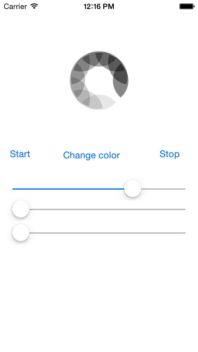 AMPActivityIndicator screenshot