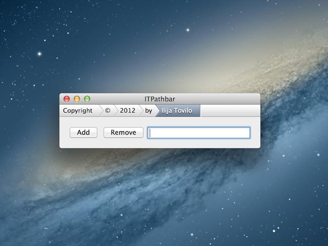 ITPathbar screenshot