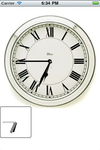 ClockView screenshot
