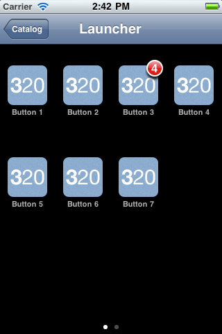 Three20 TTLauncher screenshot