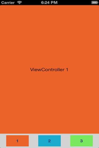 MHCustomTabBarController screenshot