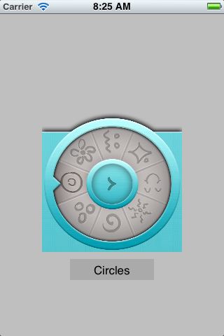 Rotating Wheel Control screenshot