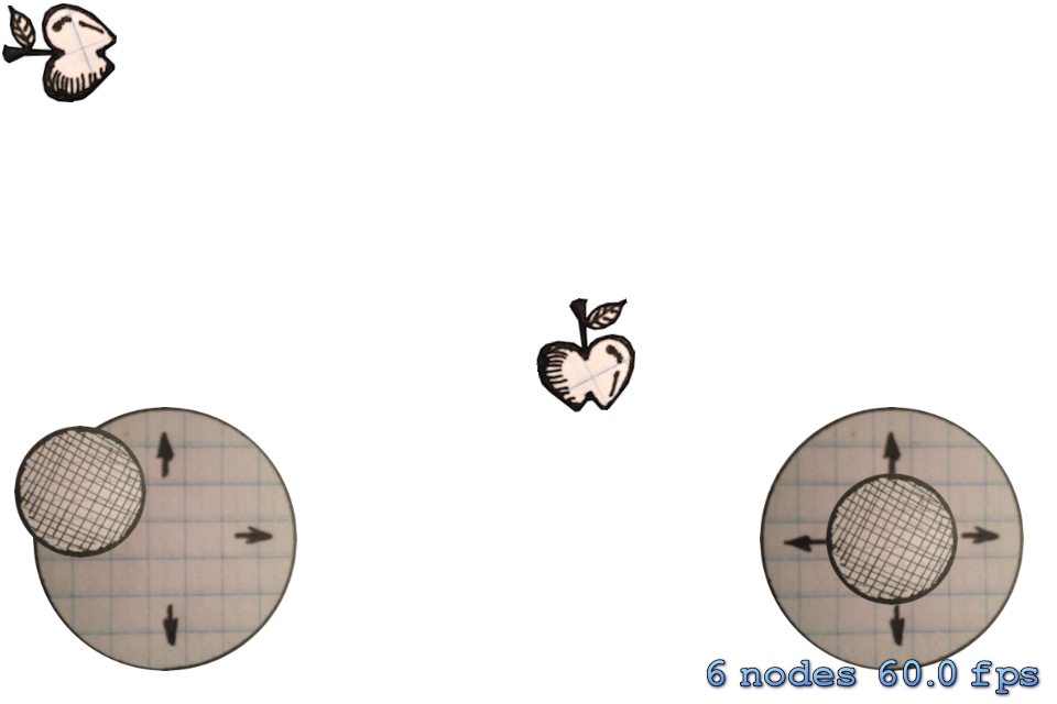 Swift-SpriteKit-Analog-Stick screenshot