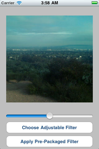 iOS Image Filters screenshot