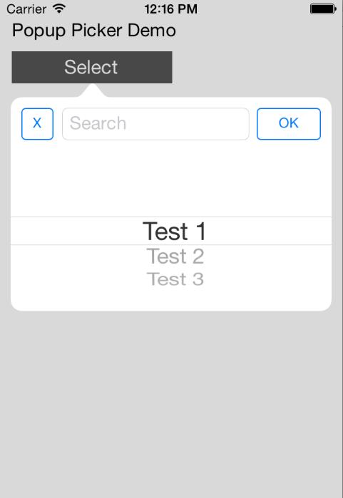 MagnetPopupPicker screenshot