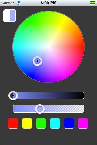 HSV Color Picker screenshot