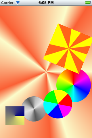 AngleGradientLayer screenshot