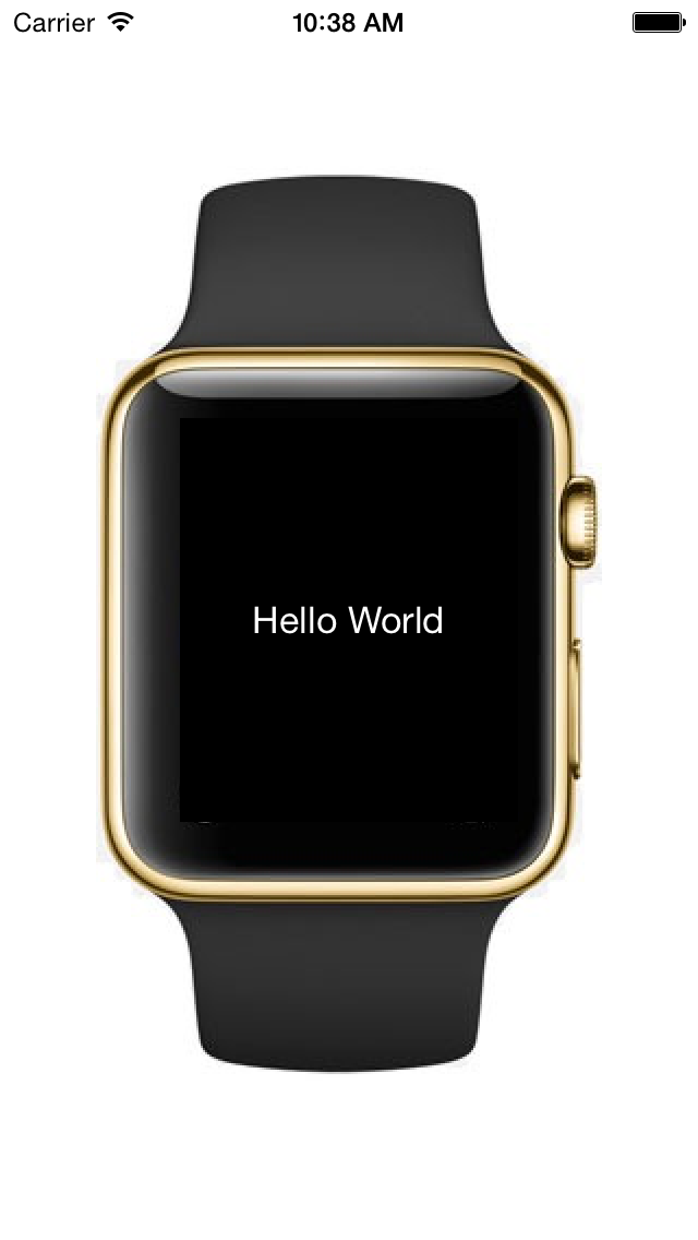 Apple Watch Simulateur screenshot