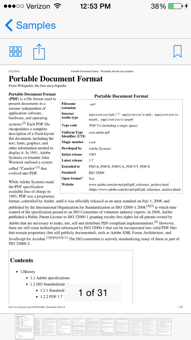 M13PDFKit screenshot