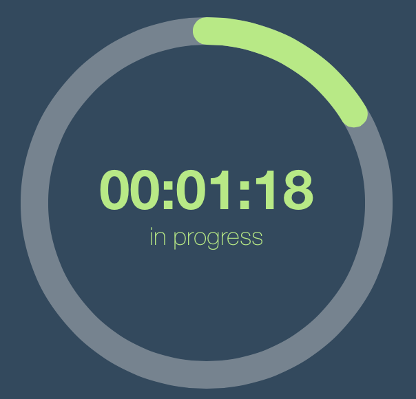 Circular Progress View screenshot