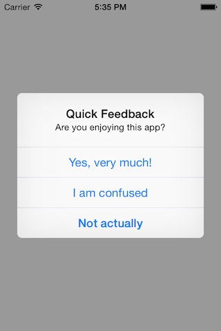 FeedbackMe screenshot
