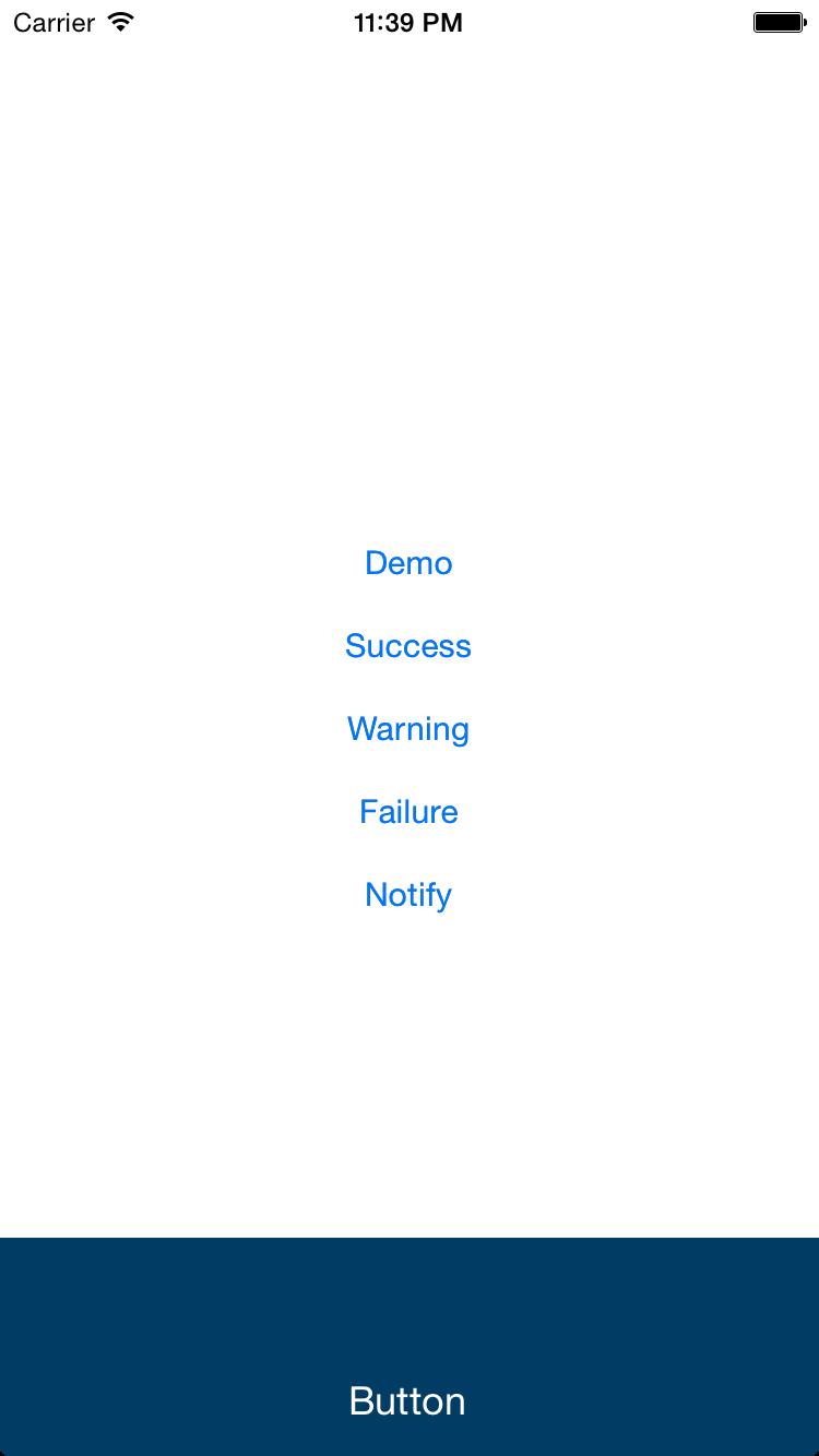 SlideInView screenshot