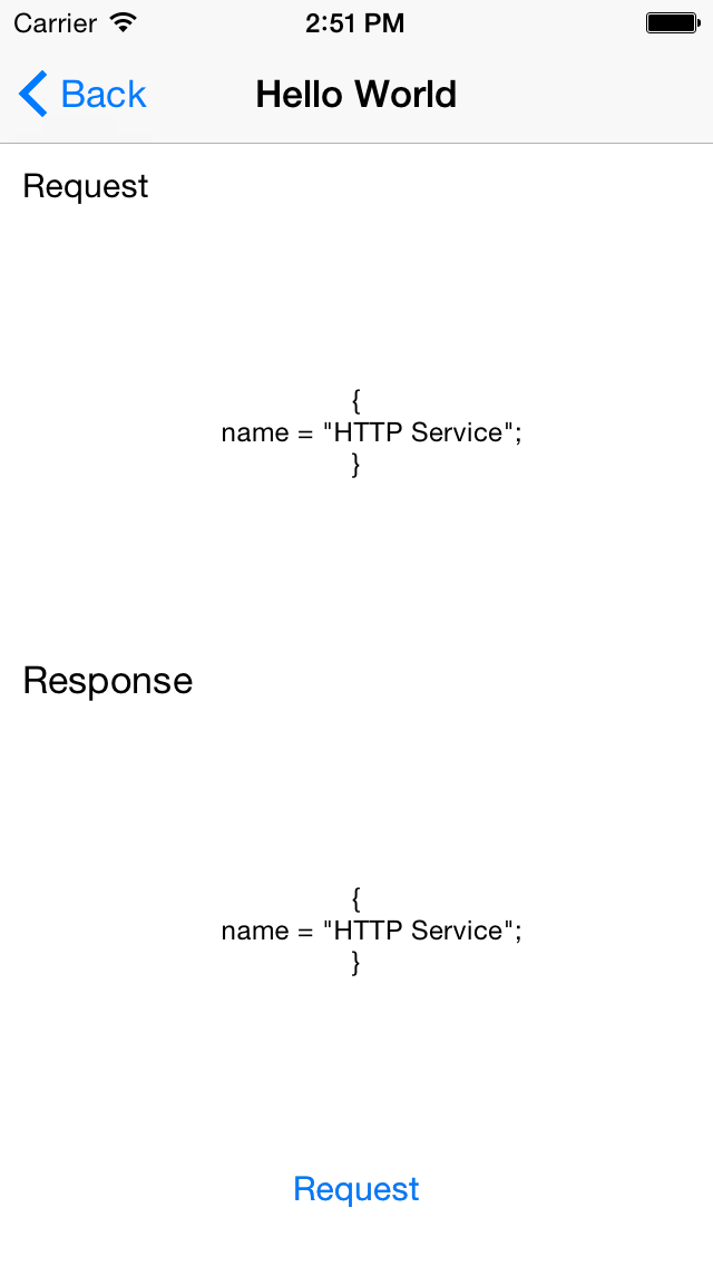 IQHTTPService screenshot