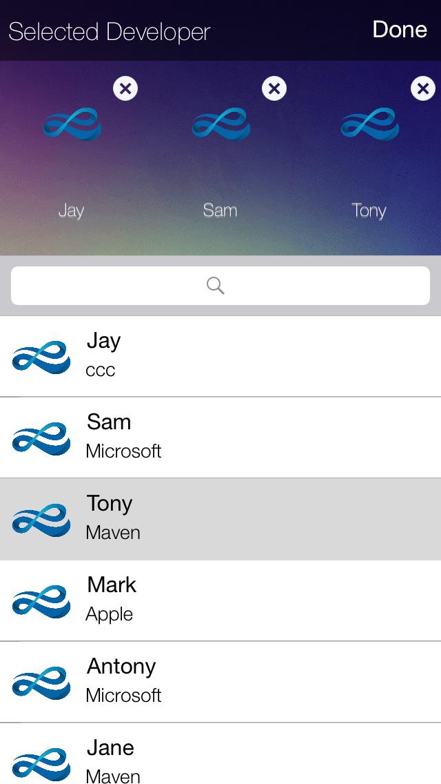 JGCustomSelection screenshot
