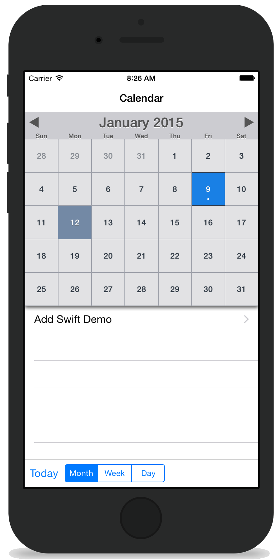 MBCalendarKit screenshot