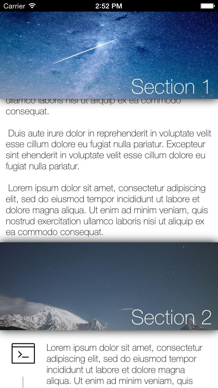 MMParallaxPresenter screenshot