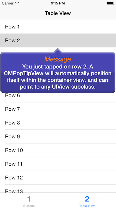 CMPopTipView_Swift screenshot