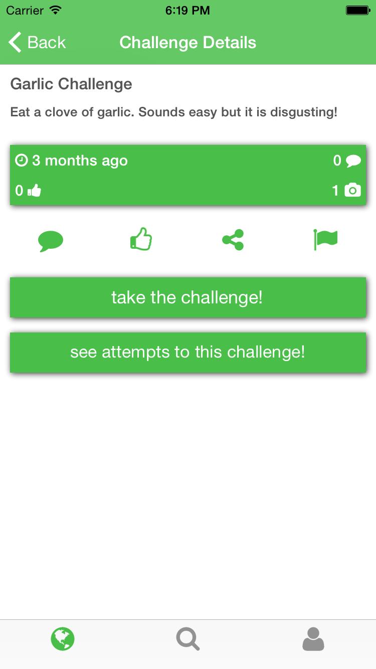 Parse-Challenge-App screenshot