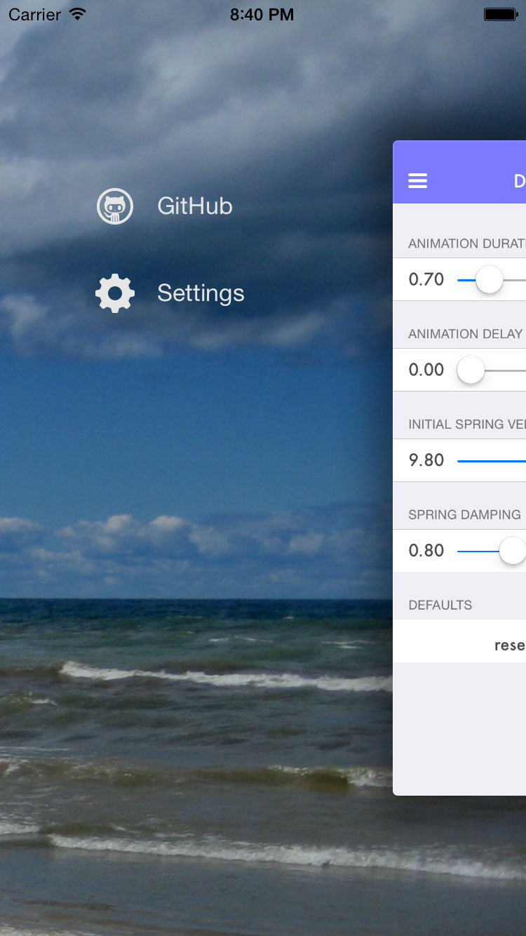 Screenshot of this control