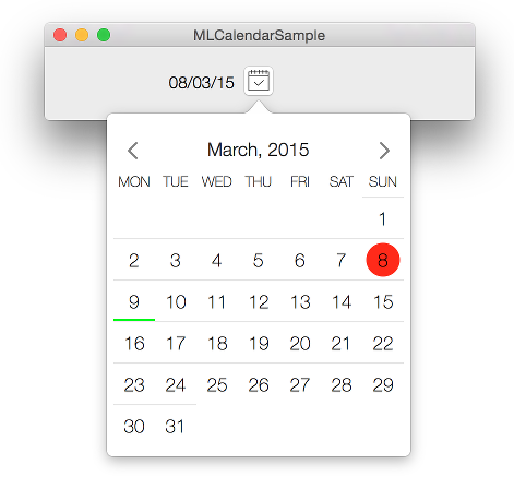 Calendar-OSX screenshot