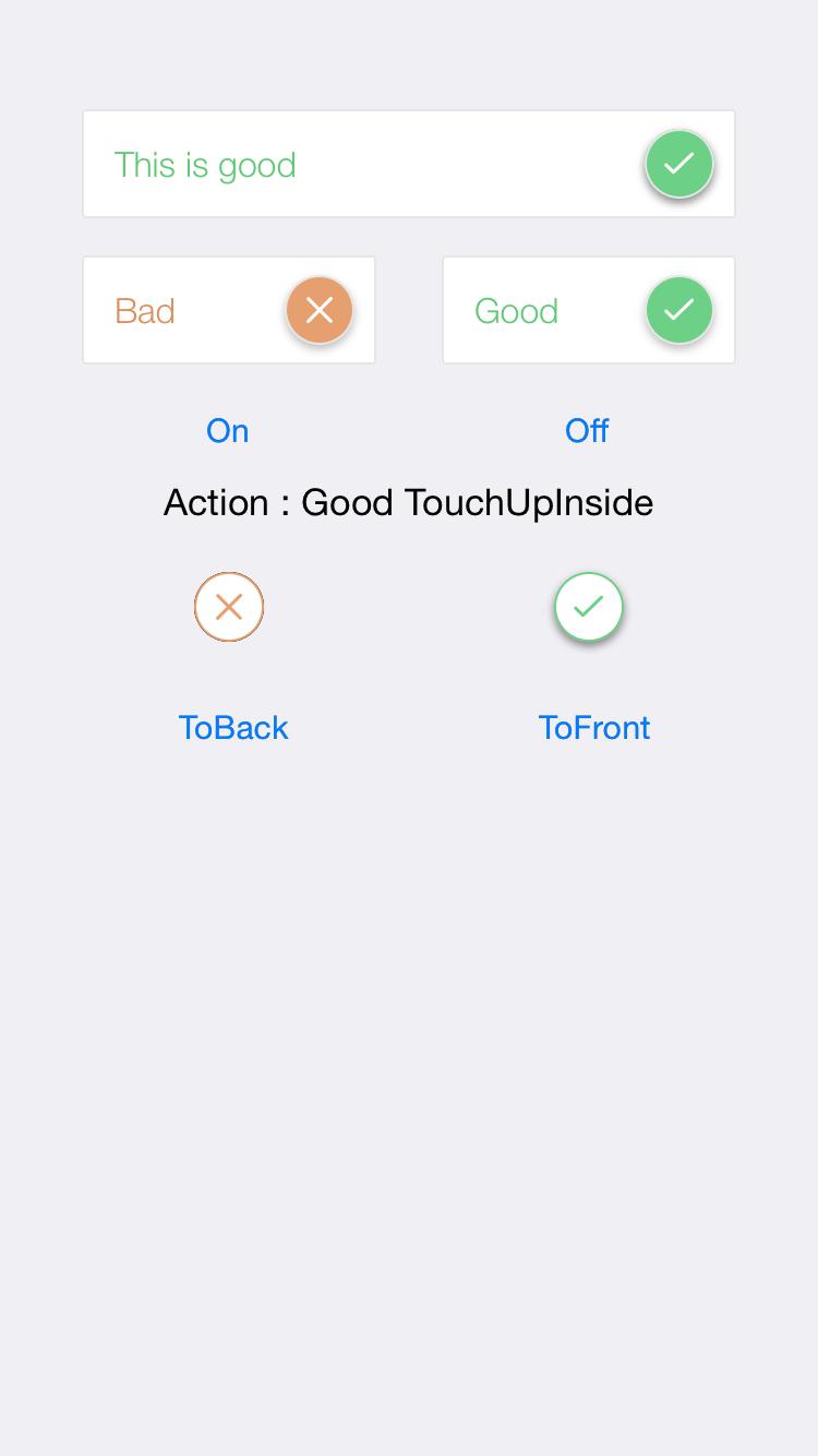 NPFlipButton screenshot